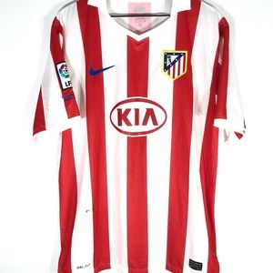 🔰 Nike Atletico Madrid 10/11 Home Jersey (XL)